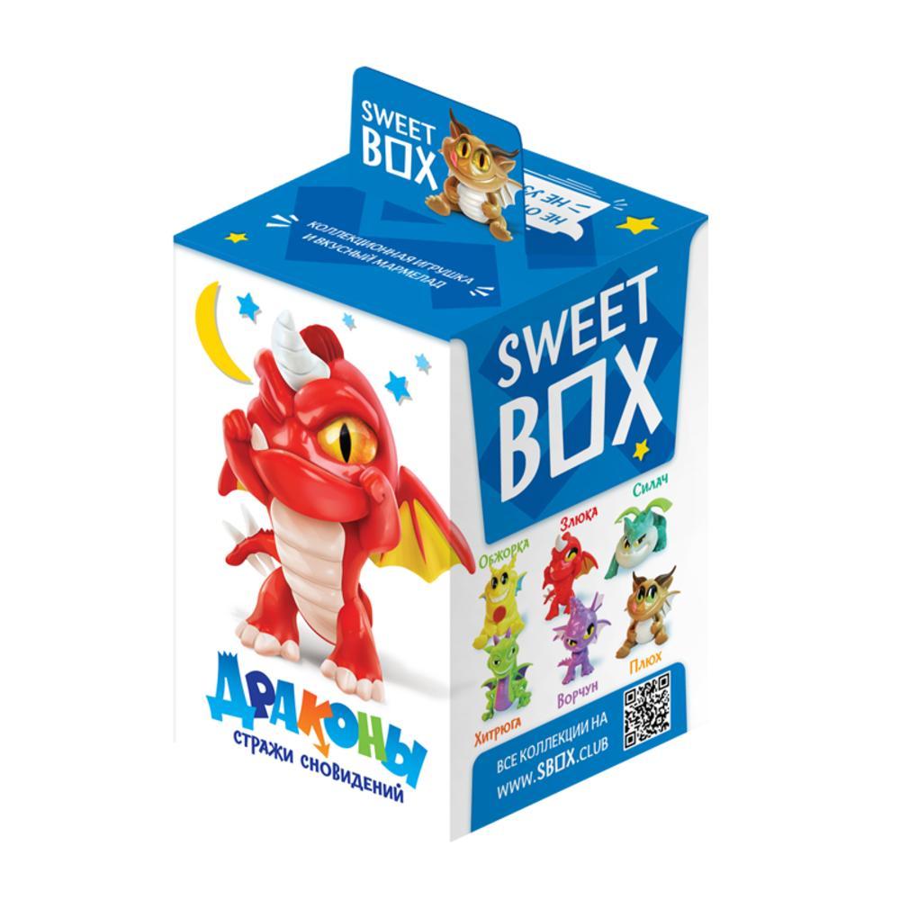 Мармелад Конфитрейд Sweet Box с игрушкой Драконы. Стражи сновидений