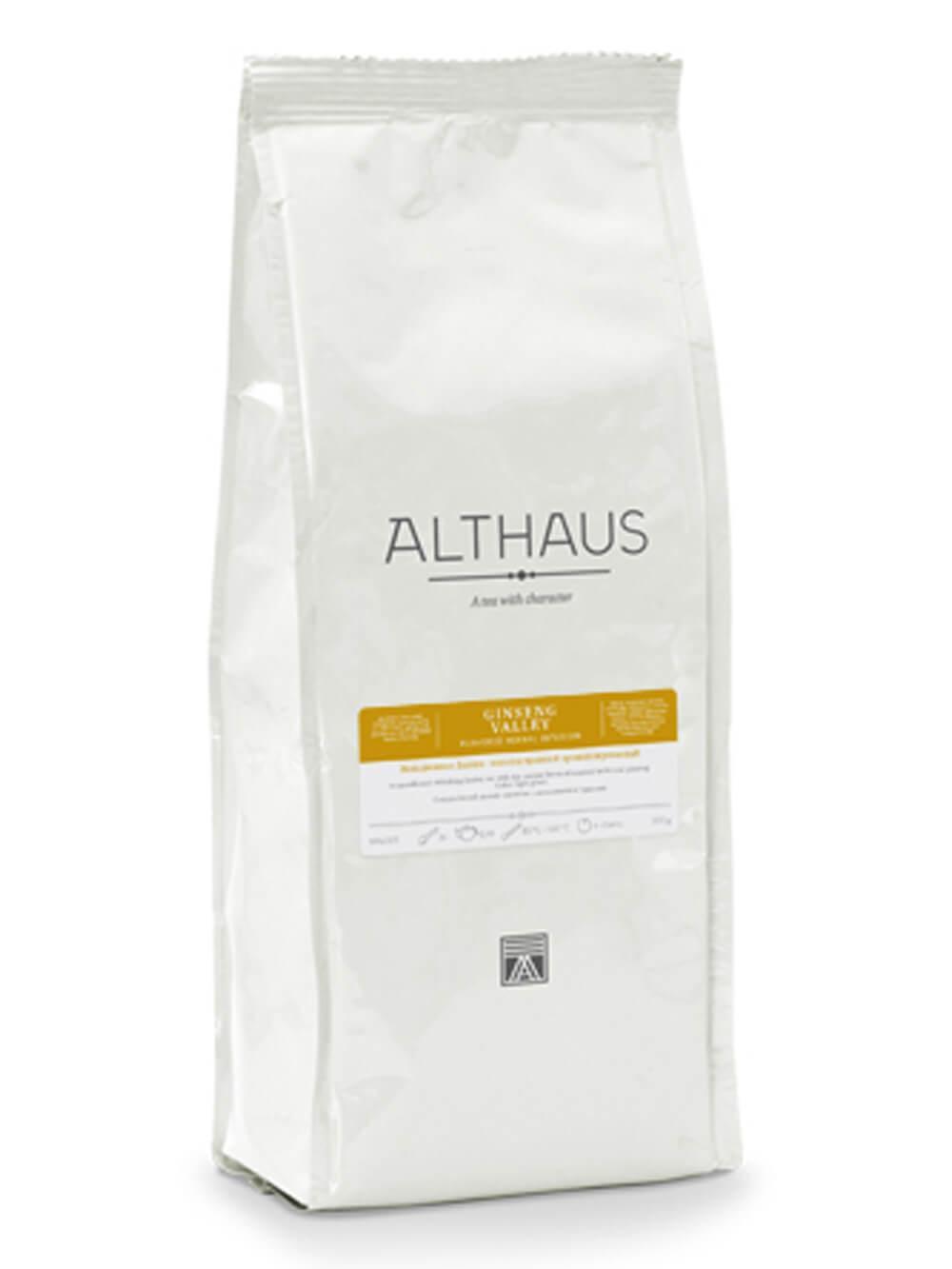 Чай травяной Althaus Ginseng Valley листовой