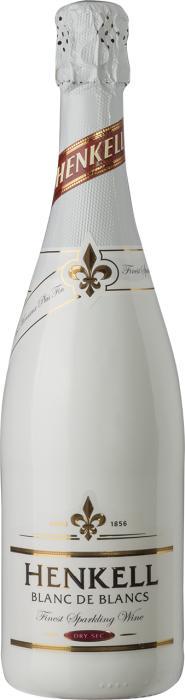 Игристое вино Хенкель Блан де Блан / Henkell Blanc de Blancs,  Ассамбляж белых сортов,  Белое Полусухое, Германия