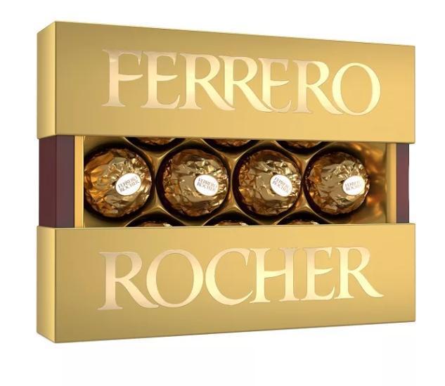 Конфеты Ferrero Rocher шоколадные хрустящие