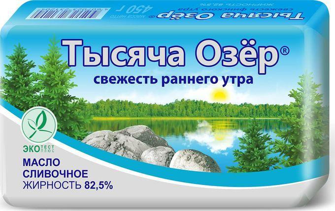 Масло Невские сыры Тысяча озер 82,5%