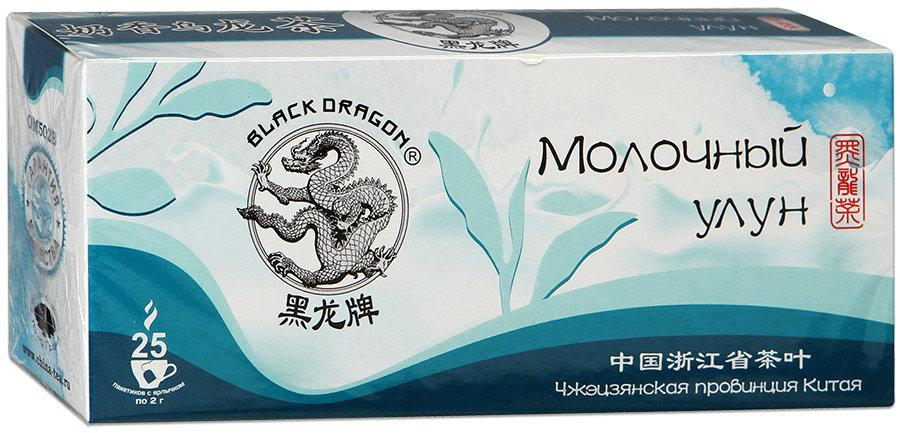 Чай Черный Дракон Улун листовой