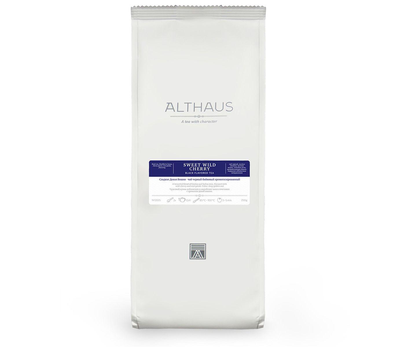 Чай черный Althaus Sweet Wild Cherry листовой