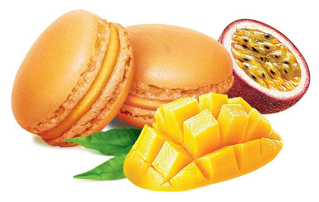 Пирожное Aculchev Macarons манго-маракуйя замороженное