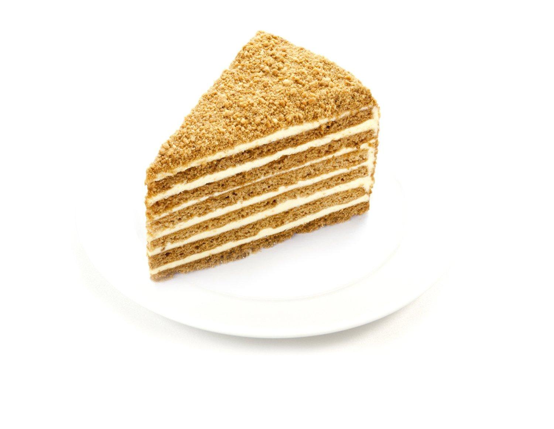 Пирожное Слоянка Медовик в креме