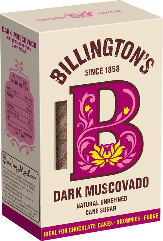 Сахар Billington's Dark Тростниковый