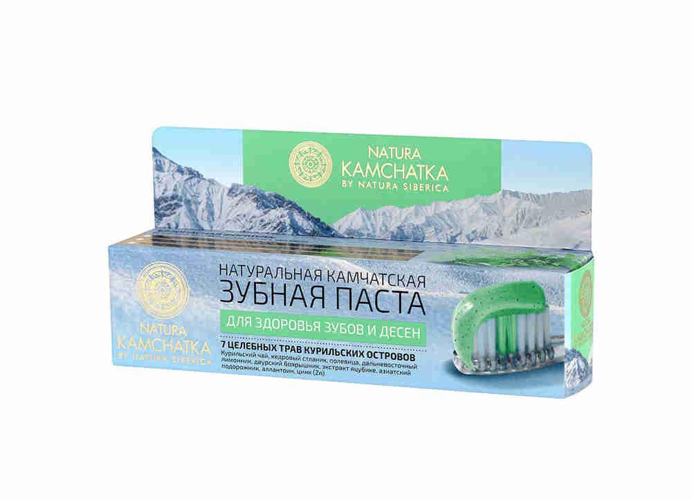 Зубная паста Natura Kamchatka для зубов