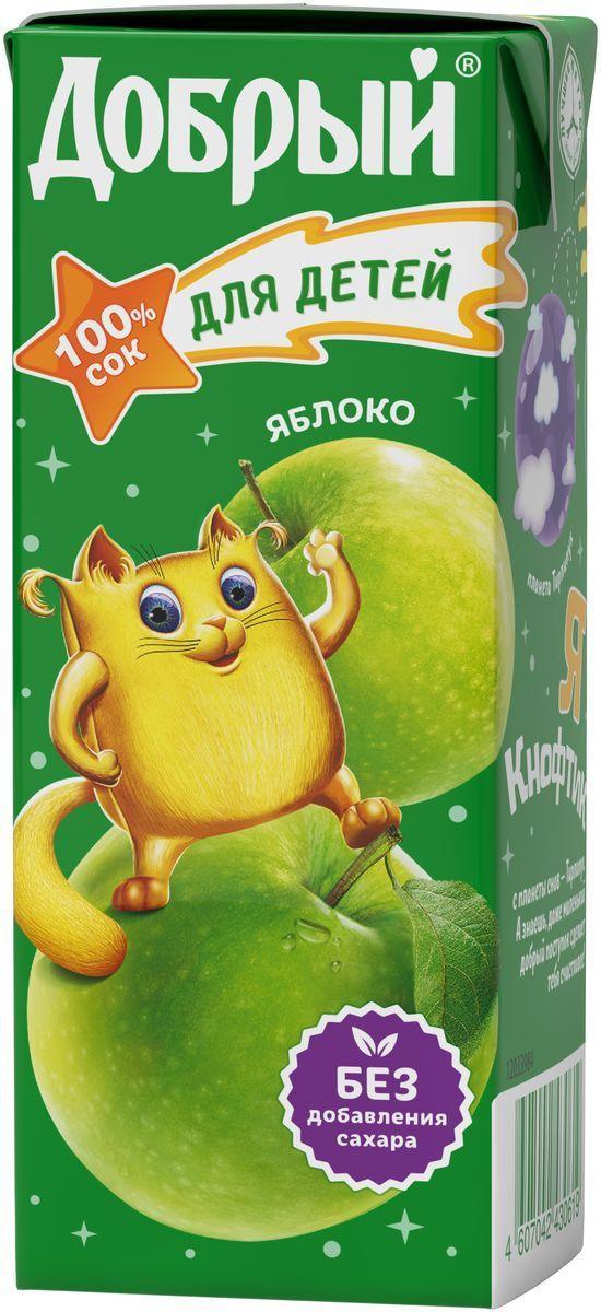 Сок Добрый яблоко для детей добрый от 5 месяцев