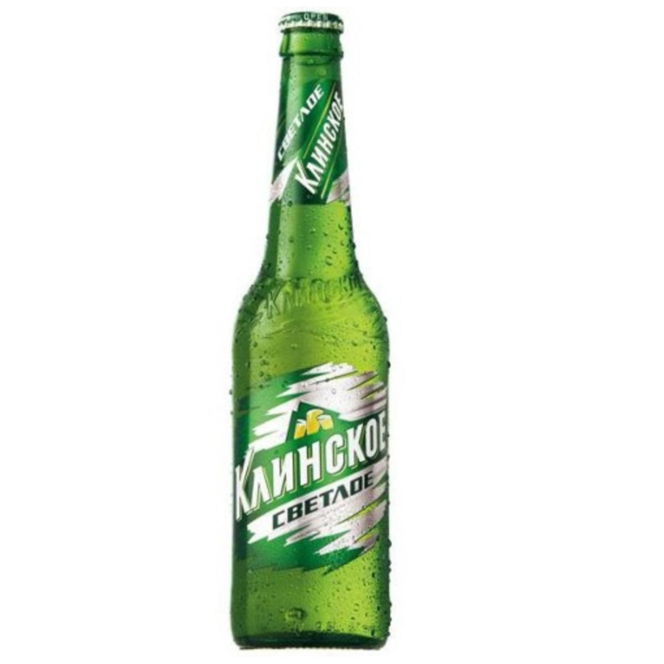 Пиво Клинское Светлое 4,7%