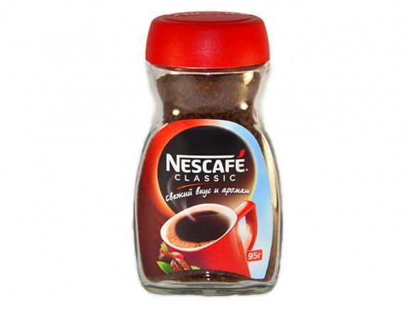 Кофе Nescafe Classic растворимый 95 гр.