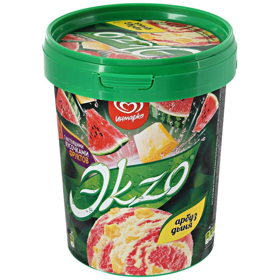 Мороженое Экзо Арбуз-Дыня 520 гр