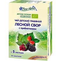 Чай Fleur Alpine Organic лесной сбор с пребиотиками с 5 месяцев