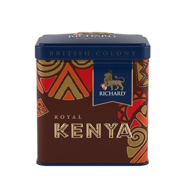 Чай Richard Kenya Royal British Colony, черный листовой, 50 гр