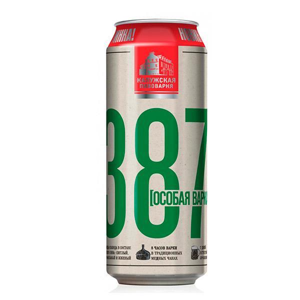 Пиво 387 особая варка