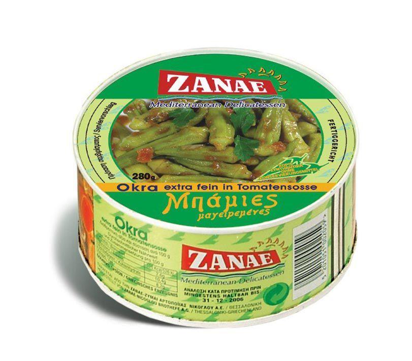 Бамия Zanae особо тонкая в томатном соусе