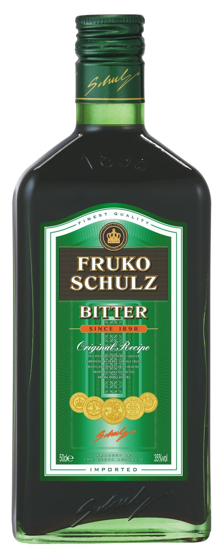 Настойка горькая «Фруко Шульц Биттер», Чешская Республика