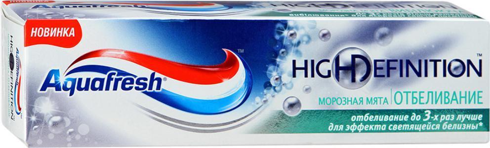 Зубная паста Aquafresh High Definition Морозная мята