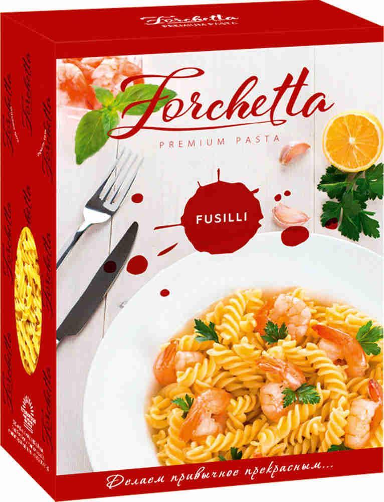Макароны Forchetta Tortiglioni Спагетти
