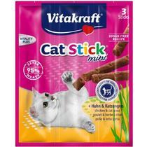 Лакомство сухое для кошек мясные колбаски с курицей и травами Vitakraft 35 гр. Пластиковый пакет