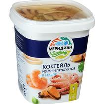 Коктейль из морепродуктов Меридиан в масле