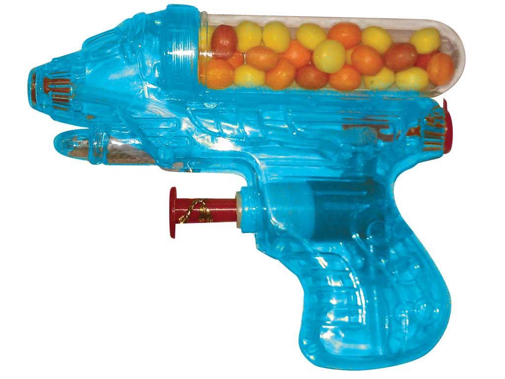 Игрушка с конфетами Водный снайпер