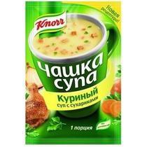 Суп Knorr Чашка супа Куриный с сухариками