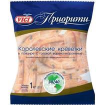 Креветки Vici 30/40 в панцире варено-мороженые