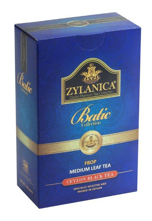 Чай Zylanica Batik Design FBOP черный 100 гр
