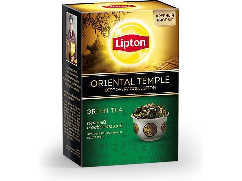 Чай Lipton Discovery collection Oriental temple зеленый