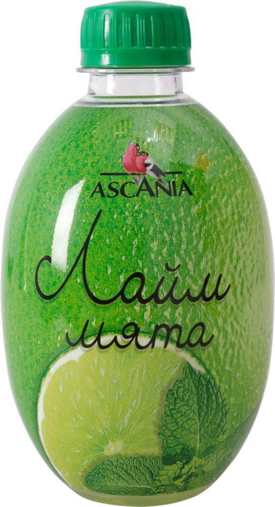 Газированный напиток Ascania Лайм мята