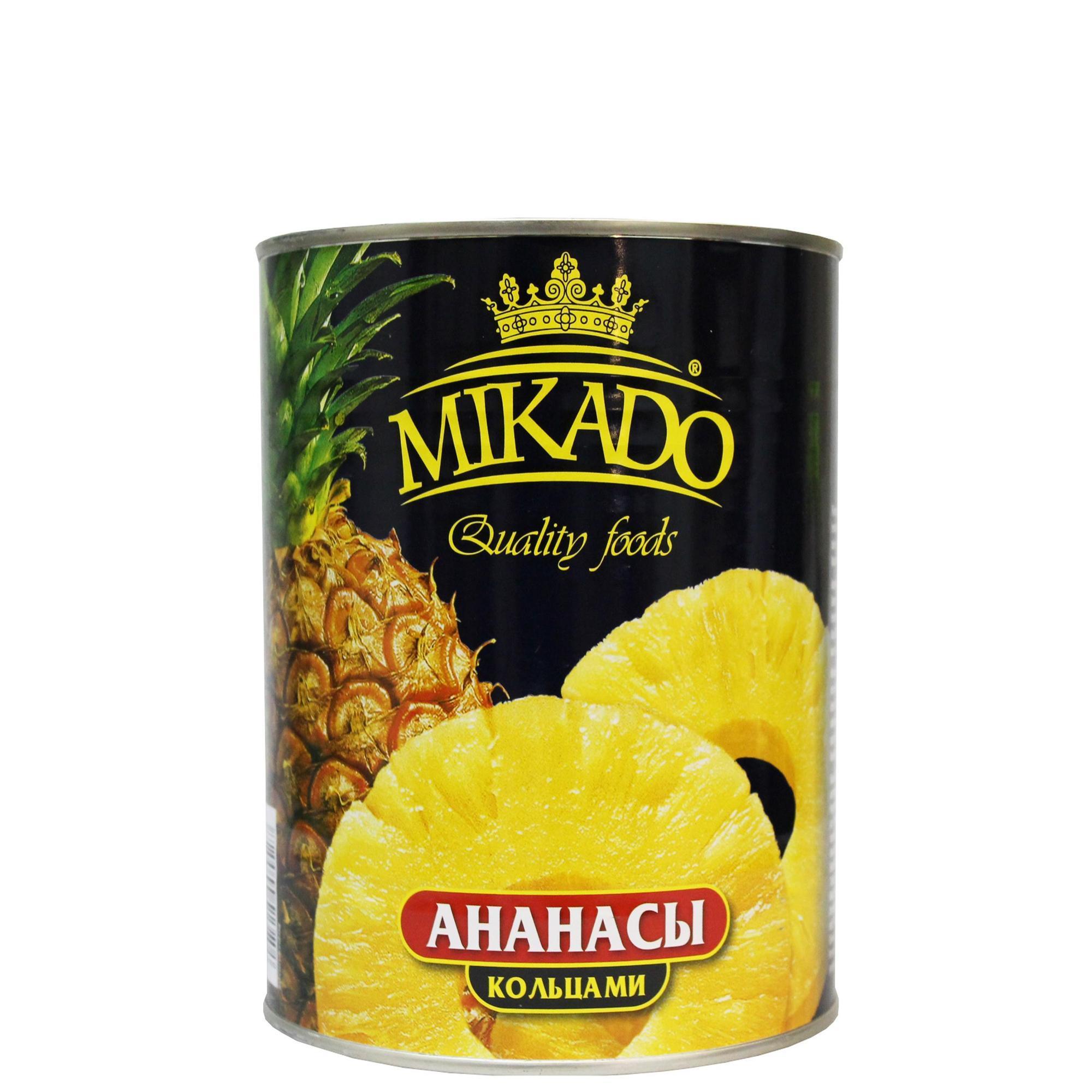 Ананасы Mikado кольцами
