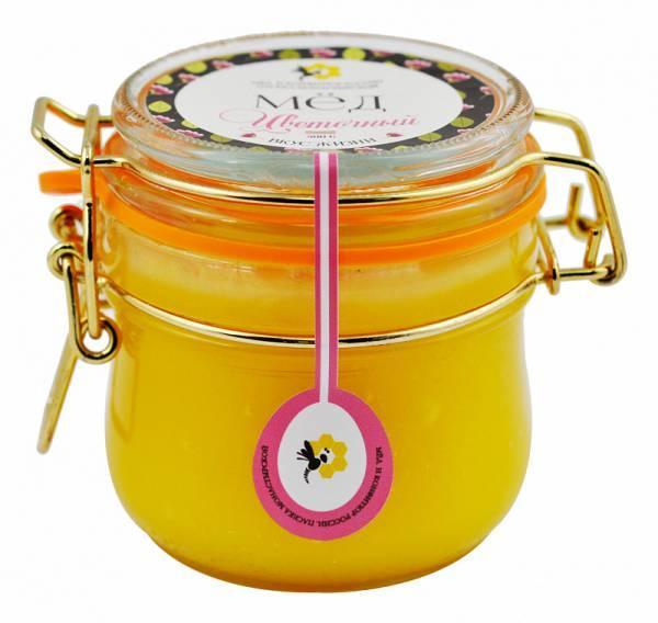 Мед Золотая Пчелка Цветочный