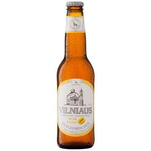 Пиво Vilniaus Alus со вкусом дыня