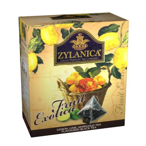 Чай черный Zylanica Fruit Exotica 20 пакетов