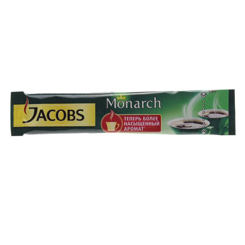 Кофе растворимый Jacobs Monarch сублимированный 1,8 гр.