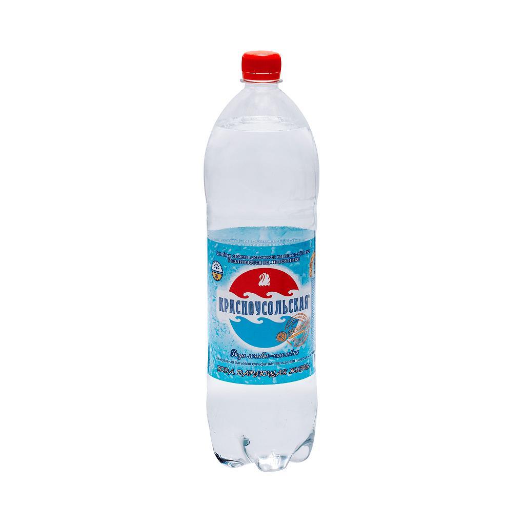 Вода минеральная Красноусольская Газированная