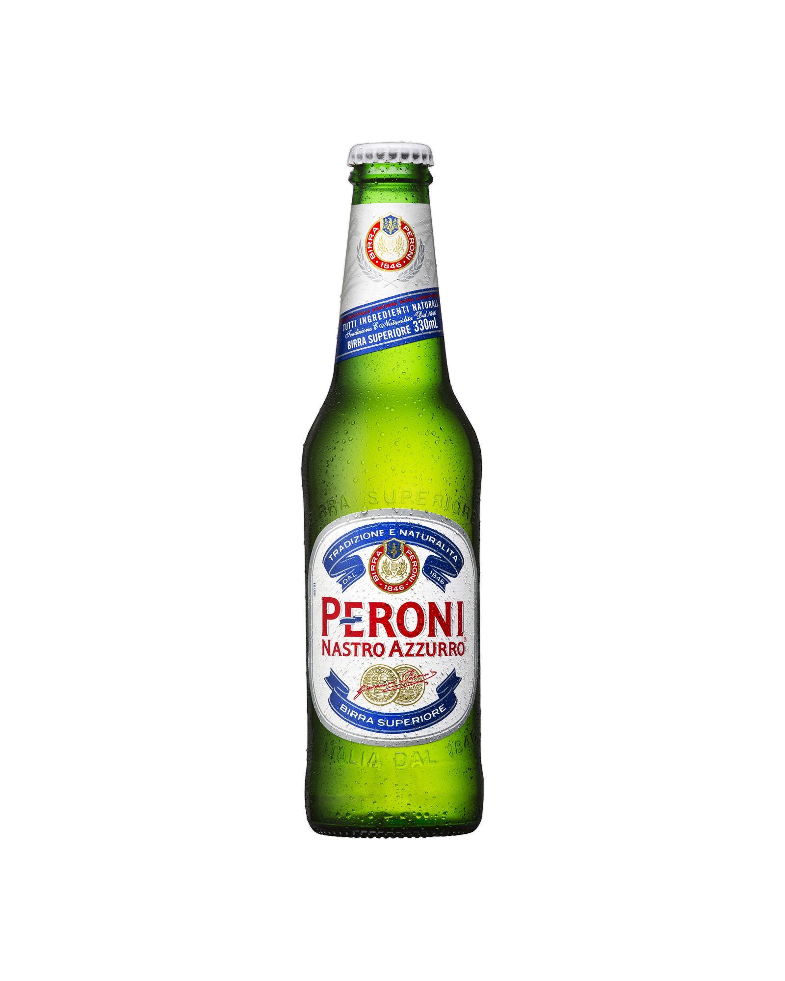 Пиво Peroni Nastro Azzurro светлое 4,6%