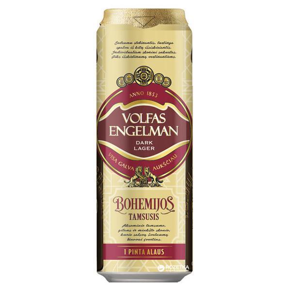Пиво Volfas Engelman Dark Lager 4,2%