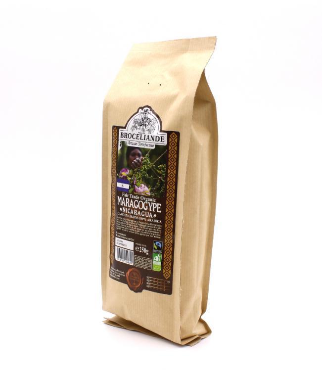Кофе Broceliande Maragogype Nicaragua в зернах