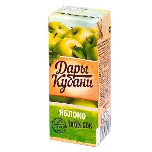 Нектар Дары Кубани яблочный
