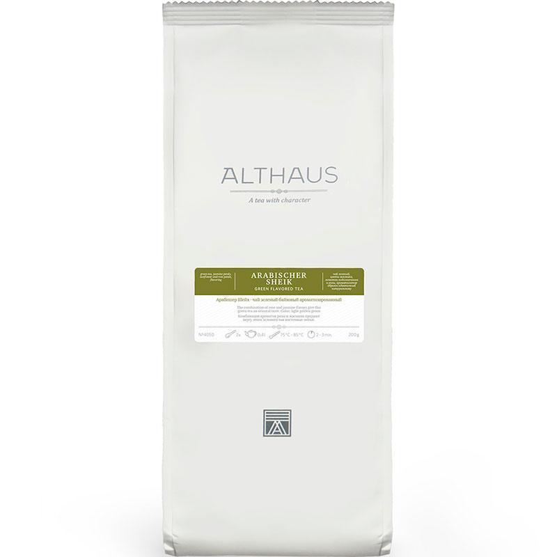 Чай зеленый Althaus Arabischer Sheik листовой