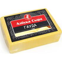 Сыр Азбука Сыра Гауда полутвердый фасованный 45% 200 г