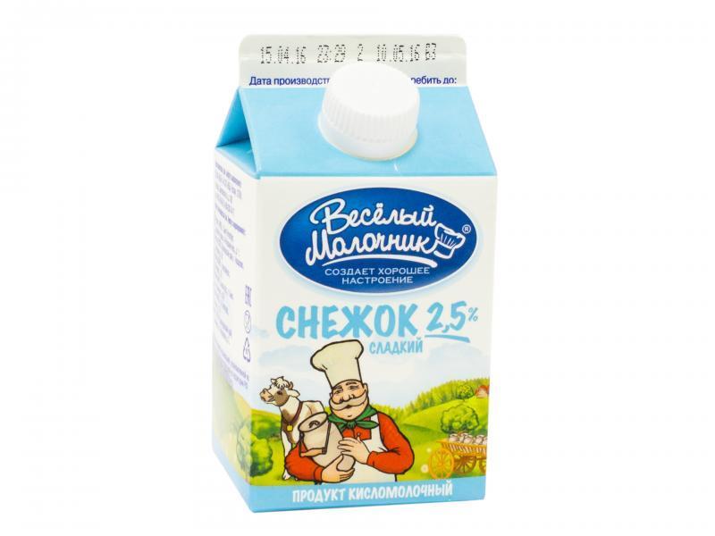 Снежок Веселый молочник 2,5%