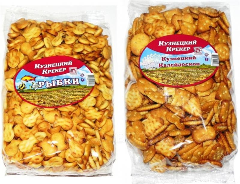 Крекер Кузнецкий Крекер с солью