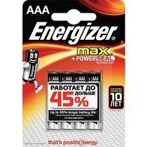 Батарейки Energizer Max AAА 4 шт
