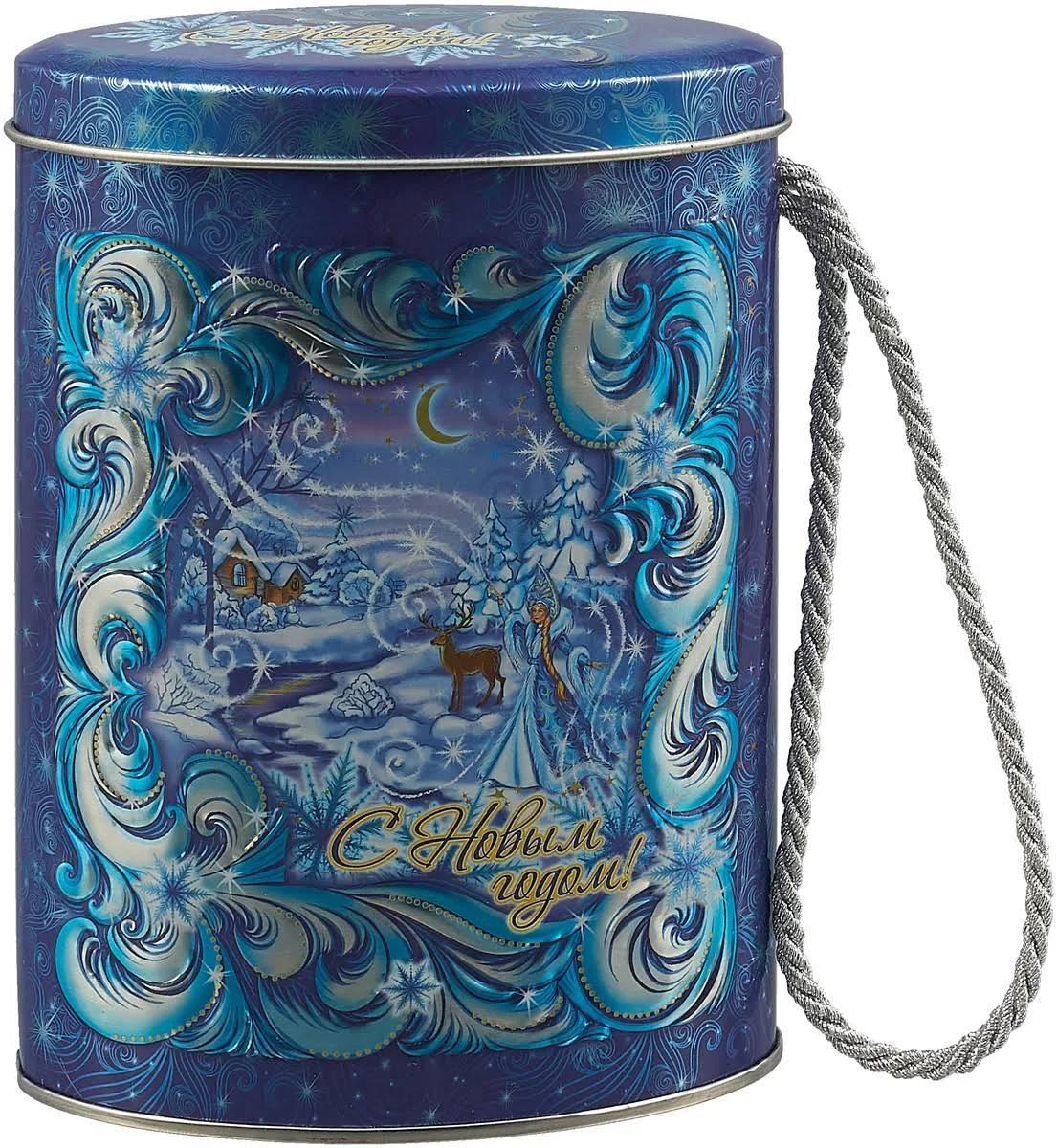 Чай черныйAbigail С лавандой Зимние узоры