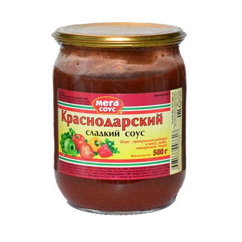Соус Мега-Соус Краснодарский сладкий