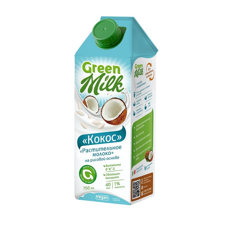 Напиток Green Milk Kokos Professional Кокос