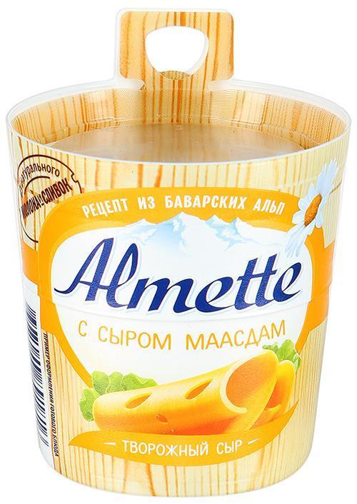 Сыр Almette c сыром Маасдам
