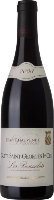 Вино Нюи Сен Жорж Премье Крю Ле Буссело /  Nuits Saint Georges 1er Cru Les Bousselots,  Пино Нуар,  Красное Сухое, Франция
